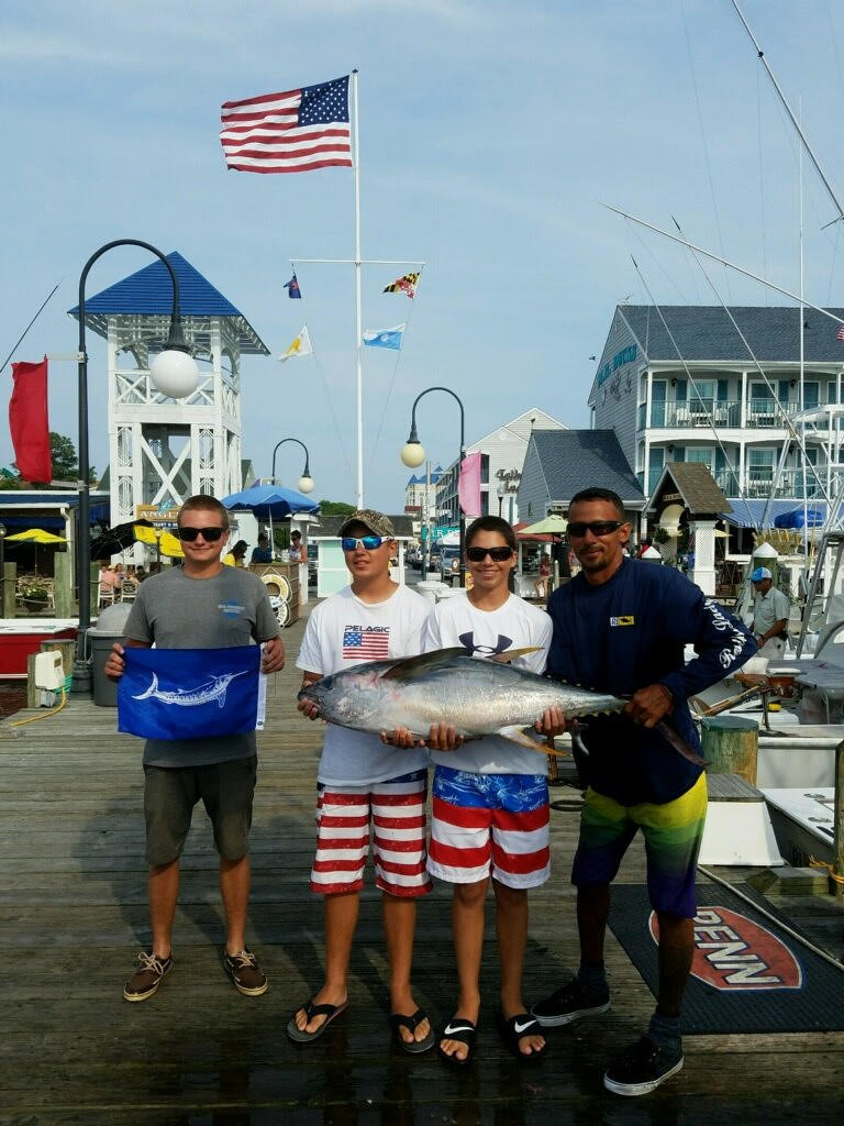 Fishing reports ocean city maryland charter boats for Md fishing charters