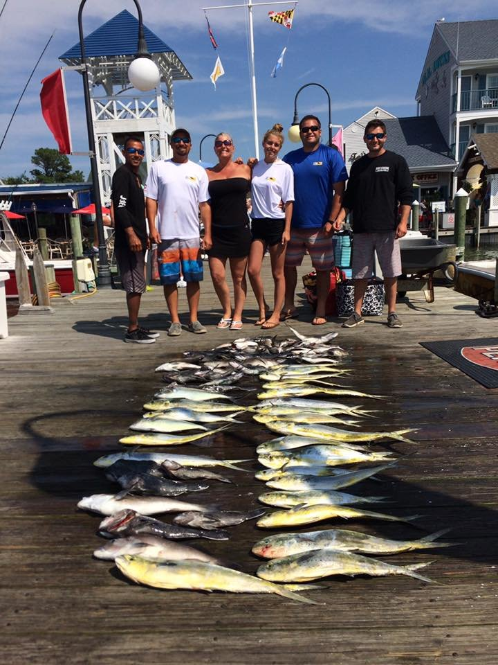 Fishing reports ocean city maryland charter boats for Fishing forecast today